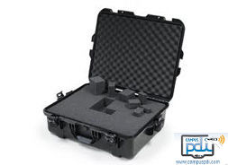 "Maleta para guardar y transportar 16 tabletas 10""  TicDivision945 + espuma adaptable con trolley"