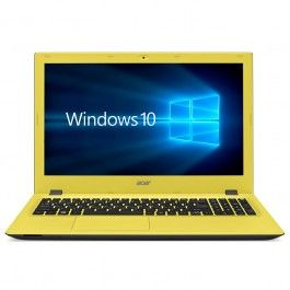 "Portátil Acer Aspire E 15 | E5-573G - 15.6"" CineCrystal - Intel® Core™ I5-4210U - 8 GB -1TB - NVIDIA® GeForce® 920M 2GB - WiFi & BT - Windows10 Home- Amarillo"