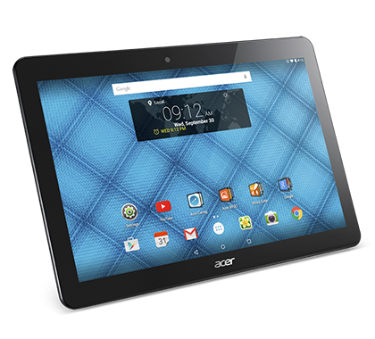 "TABLET ACER Iconia One 10 (B3-A10/32GB) 10.1""HD IPS (1280 x 800), MTK8151 OctaC, 32 GB SSD, 1 GB DDR3, Webcam Frontal 0,3MP, Webcam Trasera 5MP, Andorid 5 Lollipop - Negro REF. NT.LB7EE.002"