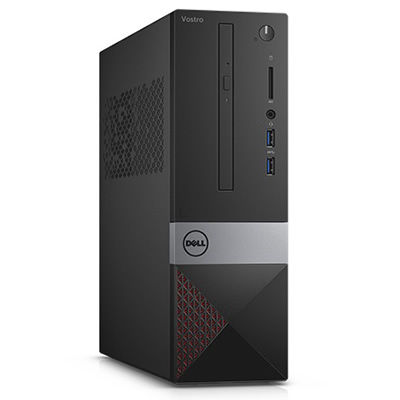 Ordenador sobremesa Dell Vostro 3250 -  Core i3 6100 / 3.7 GHz RAM 4 GB HDD 500 GB grabadora de DVD HD Graphics 530 GigE WLAN: 802.11b/g/n, Bluetooth 4.0 Win 10 Home 64 bit