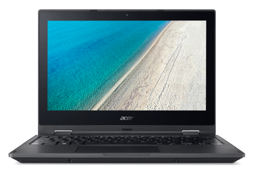 "Ordenador Portátil Acer TravelMate B118R Intel Celeron QuadCore 11,6"" HD antireflejos + Bluelight Shield 4Gb Ram 128Gb SSD HD webcam 720p HD Wireless-AC MIMO W10PROEDU Std. Warranty P/N NX.VFYEB.002 Campaña 2017-W"