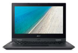 "Ordenador Portátil Acer TravelMate B118R Intel Celeron QuadCore 11,6"" HD antireflejos + Bluelight Shield 4Gb Ram 64Gb SSD HD webcam 720p HD Wireless-AC MIMO W10PROEDU Std. Warranty P/N NX.VFZEB.004 Campaña 2017-W"