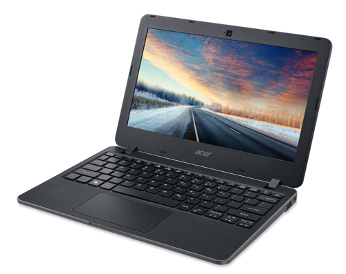 "Ordenador Portátil Acer TravelMate B117 Intel Celeron QuadCore 11,6"" HD antireflejos + Bluelight Shield 4Gb Ram 128Gb SSD HD webcam 720p HD Wireless-AC MIMO W10PROEDU Std. Warranty P/N NX.VCGEB.009 Campaña 2017-W"