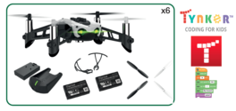 Pack Dron Parrot Mambo Fly Edu con Curso Tynker (Ref PF727008)