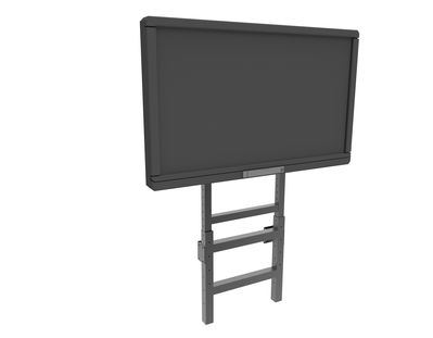 Soporte suelo-pared regulable en altura MIP FLEX, para Panel y/o Display interactivo