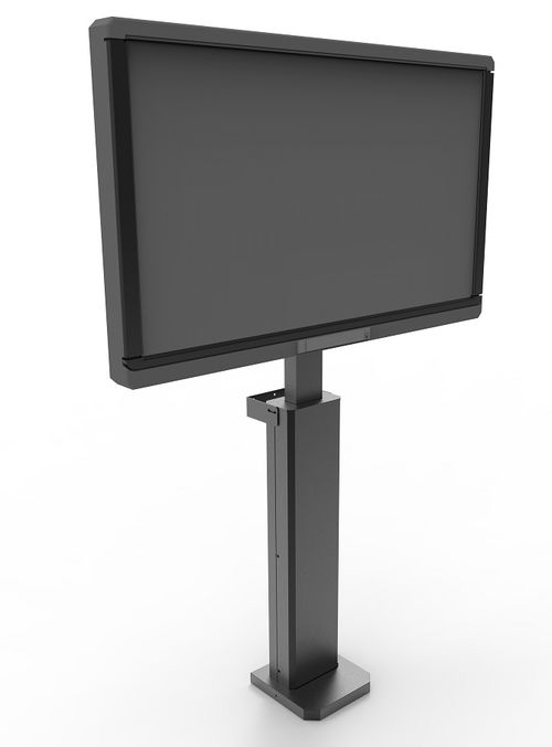 Soporte motorizado fijo suelo MIP MOT MINI BASIC, para Panel y/o Display interactivo