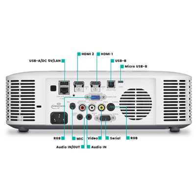 Proyector Casio Serie Advanced XJ-F211WN. One Click Connection. Solución colaborativa wifi
